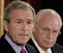 President George W. Bush and Vice President Dick Cheney:  It has been suggested that President Obama issue pardons for them and for those who implemented there torture policies. That way, divisive trials could be avoided and future presidents would be unlikely to risk imprisonment for similar crimes.