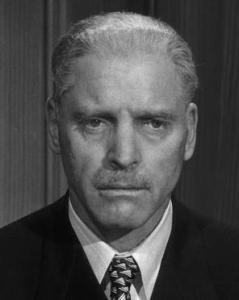 Burt Lancaster as Judge Ernst Janning, a fictional jurist who represented those jurists in Nazi Germany who knew right from wrong but was willing to convict defendants whom they knew to be innocent.